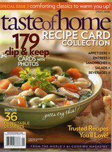 Taste Of Home Magazine Recipe Card Collection Spring 2009