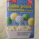 Betty Crocker Cake Pops, Brownies & More Cookbook #268