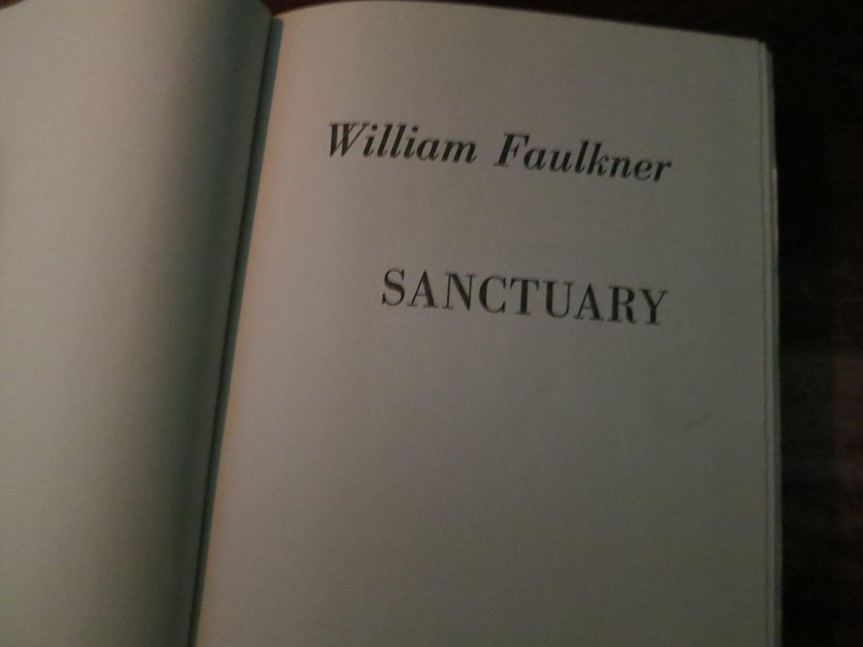 Sanctuary by William Faulkner (Hardcover) 1958