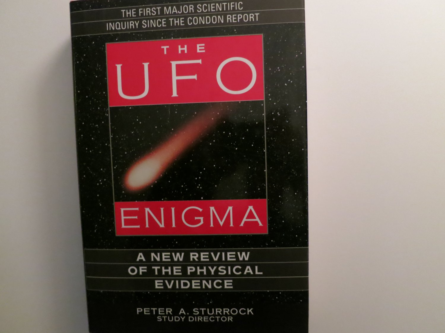 The UFO Enigma by Peter A Sturrock (Hardcover) 1999