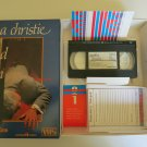 Agatha Christie Behind The Screen VCR Mystery Game