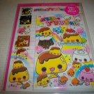 Sweet Pudding Friends Kawaii Letter Set