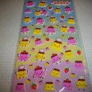 Pudding Friends Sponge Sticker Sheet