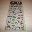 Q-Lia Happy Kohamu Hampster Sticker Sheet