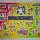 Crux Gonbini Panda Sticker Sheet