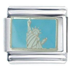 Statue of Liberty Italian Charm (9mm)