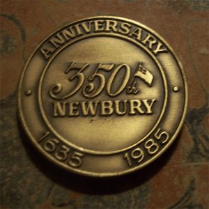 350th Anniversary Bronze Coin