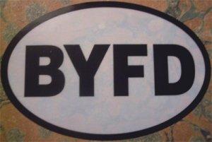 Byfield (BYFD) Euro Sticker