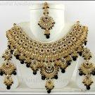 Indian Bollywood Costume Jewelry Jodha Akbar Necklace Set 921 Black