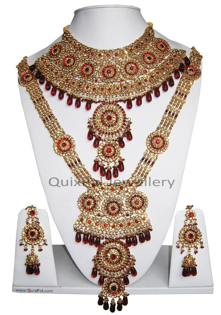 Jodha Akbar Aishwarya Bollywood Bridal Jewellery Set716