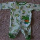Green Alligator Carter's 0-3 months