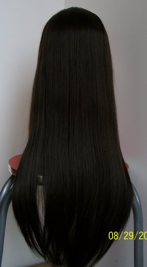"18"" Yaki Remy Full Lace Front Wig"