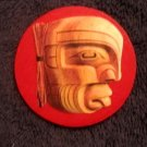 Native American Wood Carvings Magnets