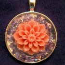 Flower and Sequins Pendant