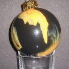 Tiger Swirl Ornament