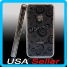Smoke Designer Silicone Bumper Case Cover iPhone 4 4G