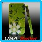 G1 Floral Designer Hard Case Cover for Apple iPhone 4 4G