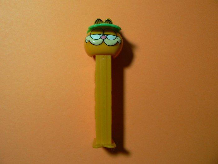 Sporting Garfield Pez Dispenser on Orange Stem