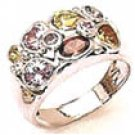 Color Gems Stone Ring