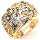 40gm Color Gems Stone Ring 14k Y Gold- semi precious