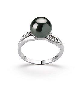 Black Tahitian Ring -