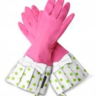 Pink/Lime Dot with Bow
