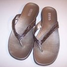NEW~KENNETH COLE BEADED SANDALS SHOES STUNNING FLIP 10