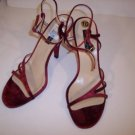 $189~NEW~KENNETH COLE RED SANDALS HEELS SHOES 10