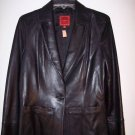 $765~NWT~COLE HAAN LEATHER JACKET BLACK COAT NEW~SZ. M