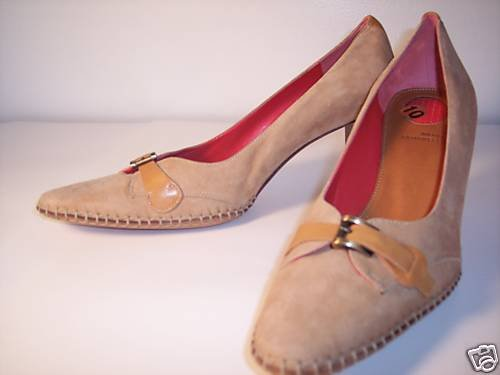 $340~BANFI ZAMBRELLI PUMPS HEELS SHOES ITALY~10 NEW!!