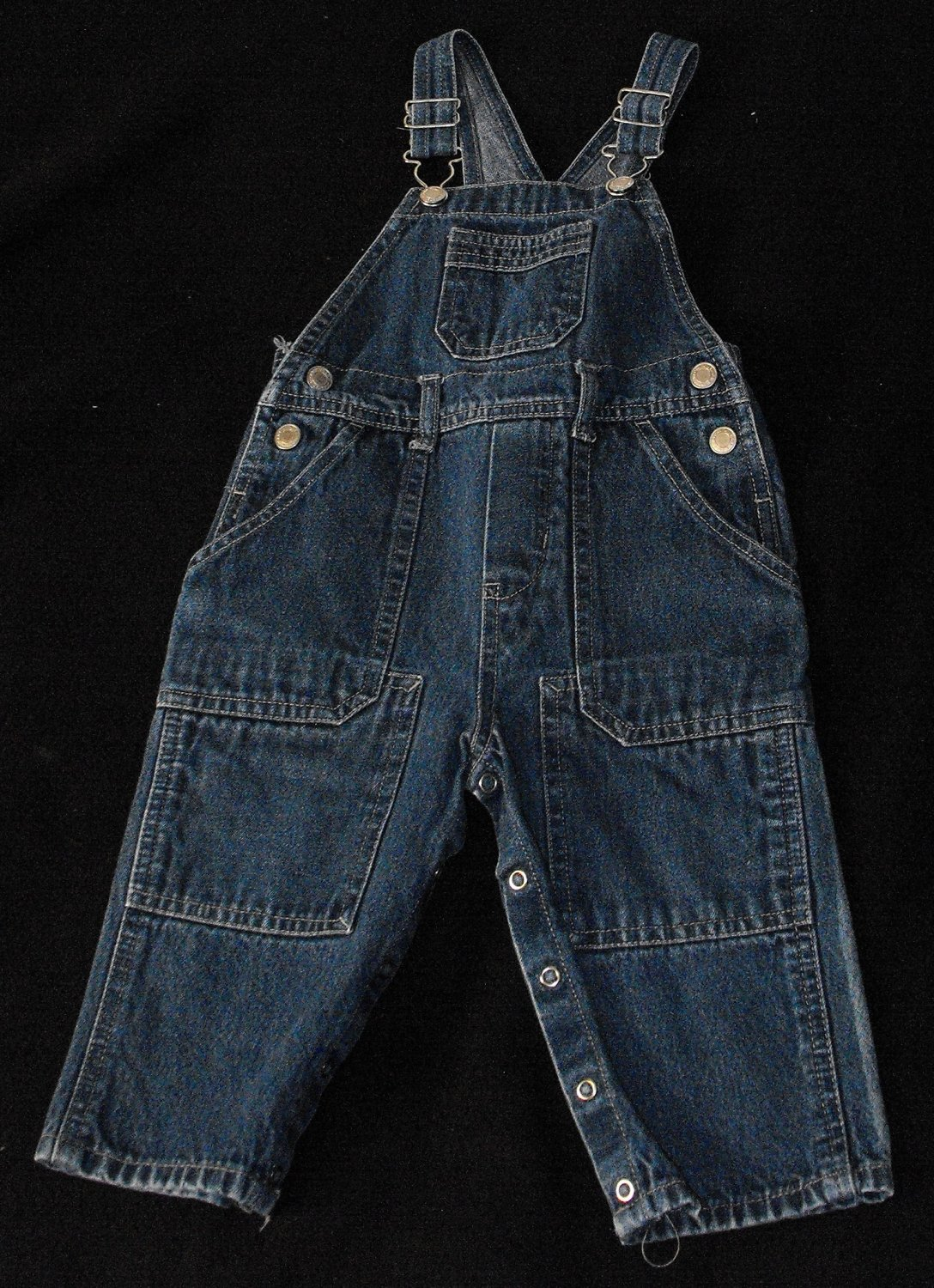 Faded Glory Boys 18-24 Months Jeans Overalls Pants