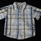Faded Glory Boys 12-18 Months Button Up Shirt