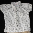 Baby Fair Boys 12 Months Button Up Shirt