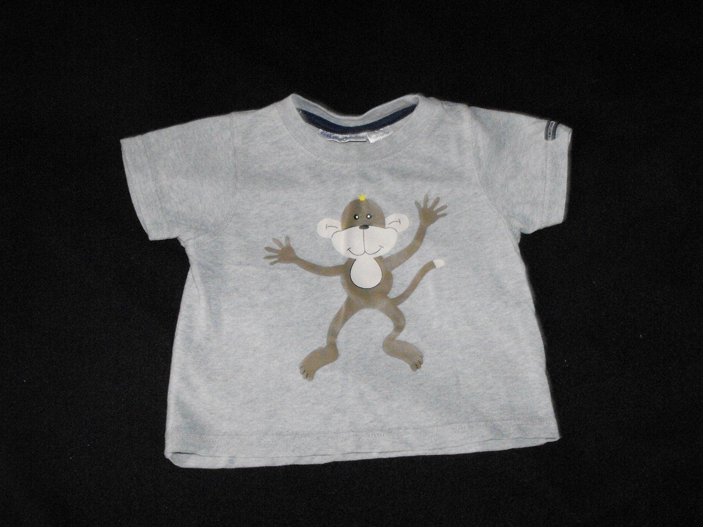 First Impressions Boys 12 Months Monkey Shirt