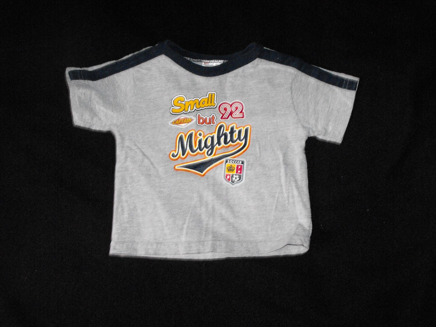 "Kid Connection Boys 12 Months ""Small But MIghty"" Shirt"