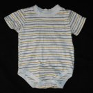 Faded Glory Boys 12 Months Short Sleeve Bodysuit Creeper Shirt