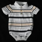 Starting Out Boys 12 Months Onesie Polo Style Shirt