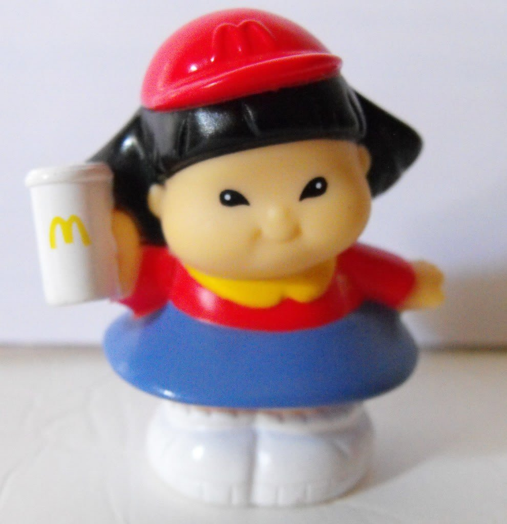 *SOLD~Fisher Price Little People McDonald's Sonya Lee HTF