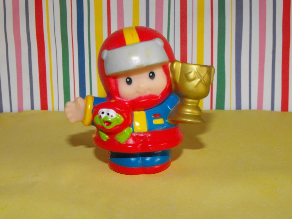 Fisher Price Little People Eddie Race Car Driver
