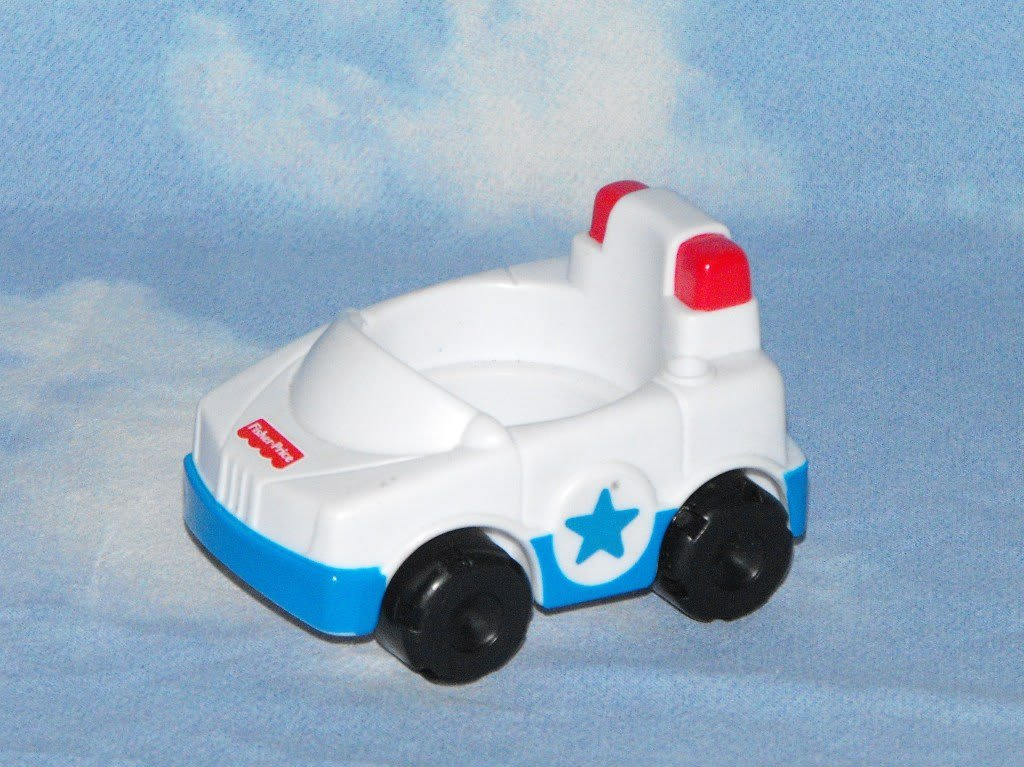 Fisher Price Little People Discovery City Police Car Part