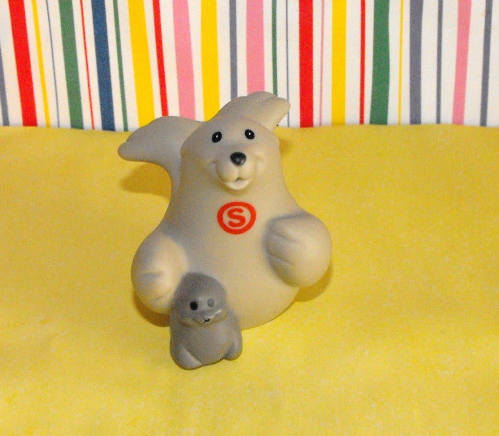 Fisher Price Little People ABC Learning Zoo Seal Letter S