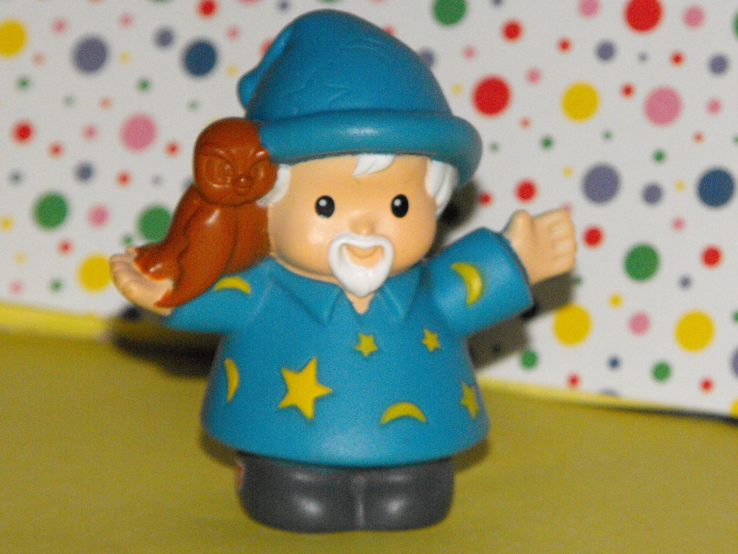SOLD~Awaiting Feedback~Fisher Price Little People Castle Playset Wizard Socerer