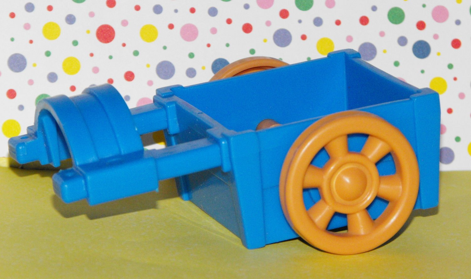 1*SOLD~Fisher Price Little People Farm Horse Cart Part