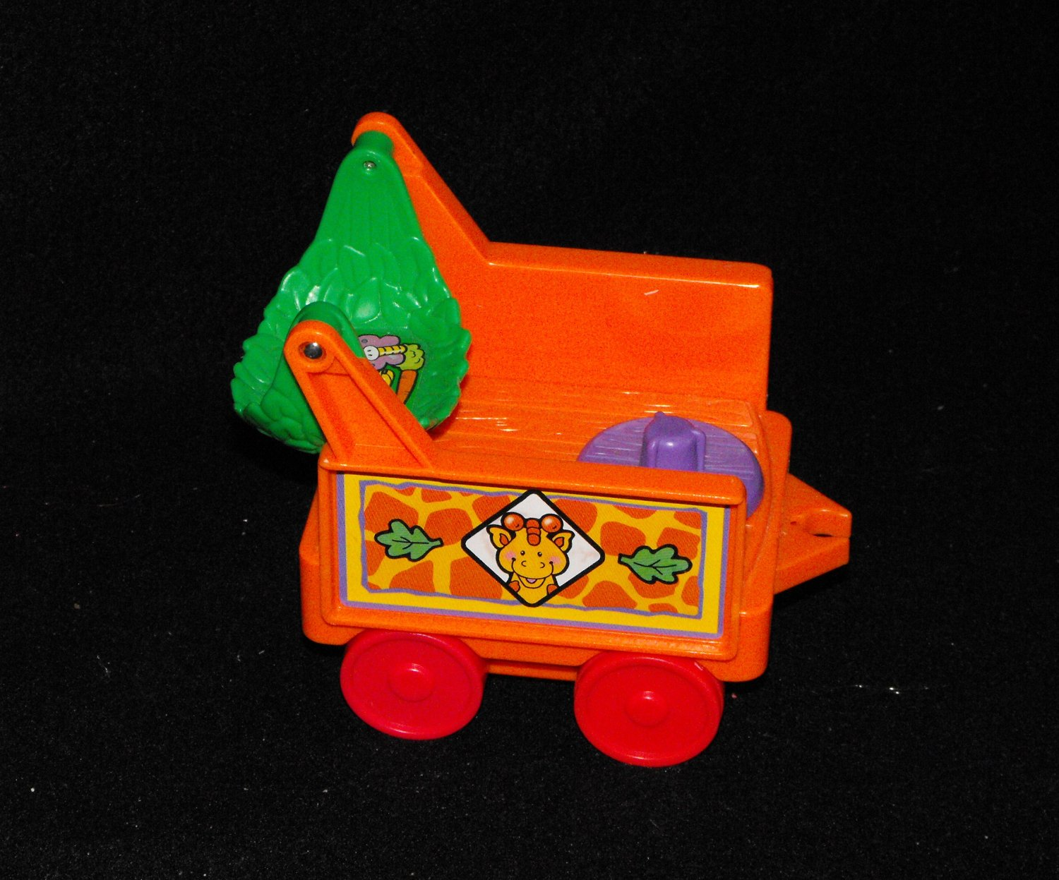 *SOLD~Fisher Price Little People Zoo Orange Train Part