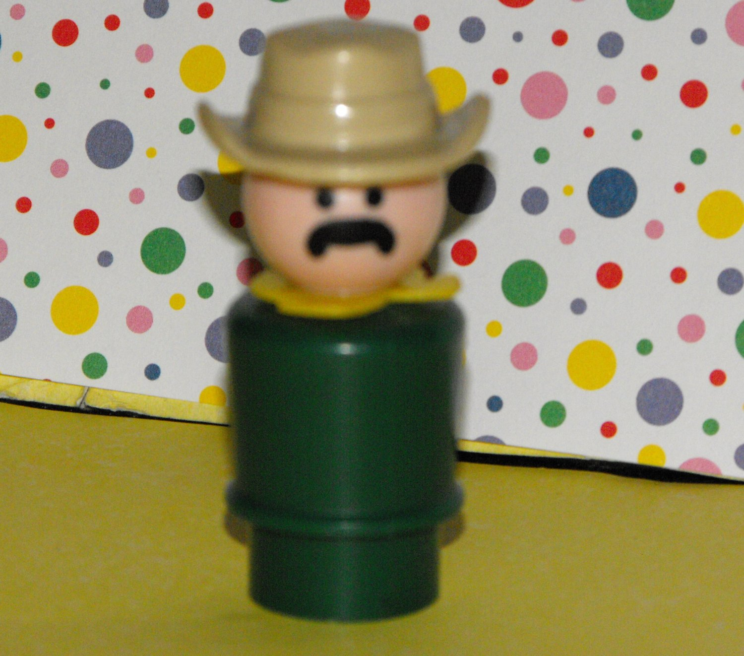 Vintage Fisher Price Little People Cowboy Zookeeper 916