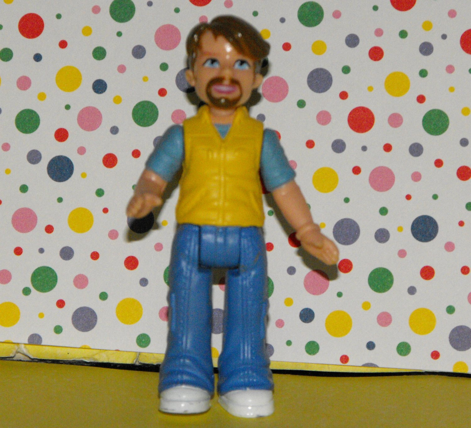 *SOLD~FISHER PRICE SWEET STREETS GO ANYWHERE DAD FIGURE