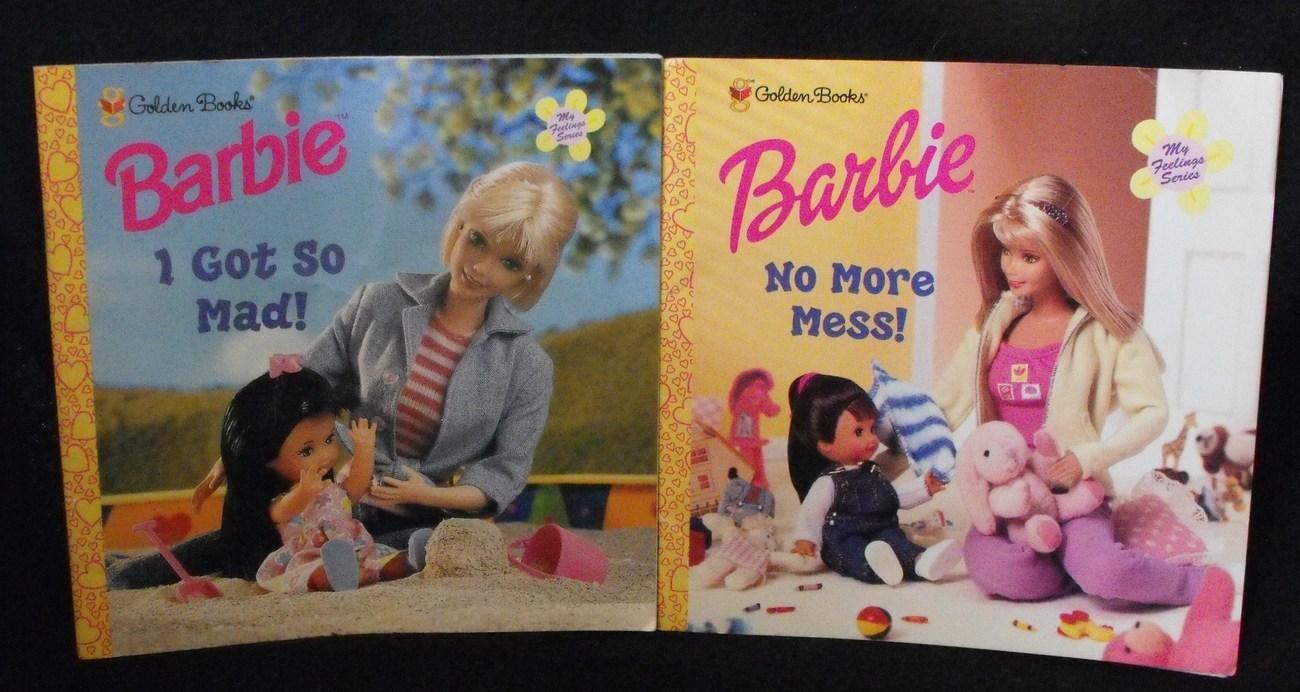BARBIE MY FEELINGS SERIES BOOK LOT