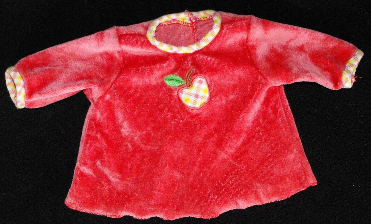 "AMERICAN GIRL BITTY BABY ""AUTUMN HARVEST"" SHIRT ONLY"