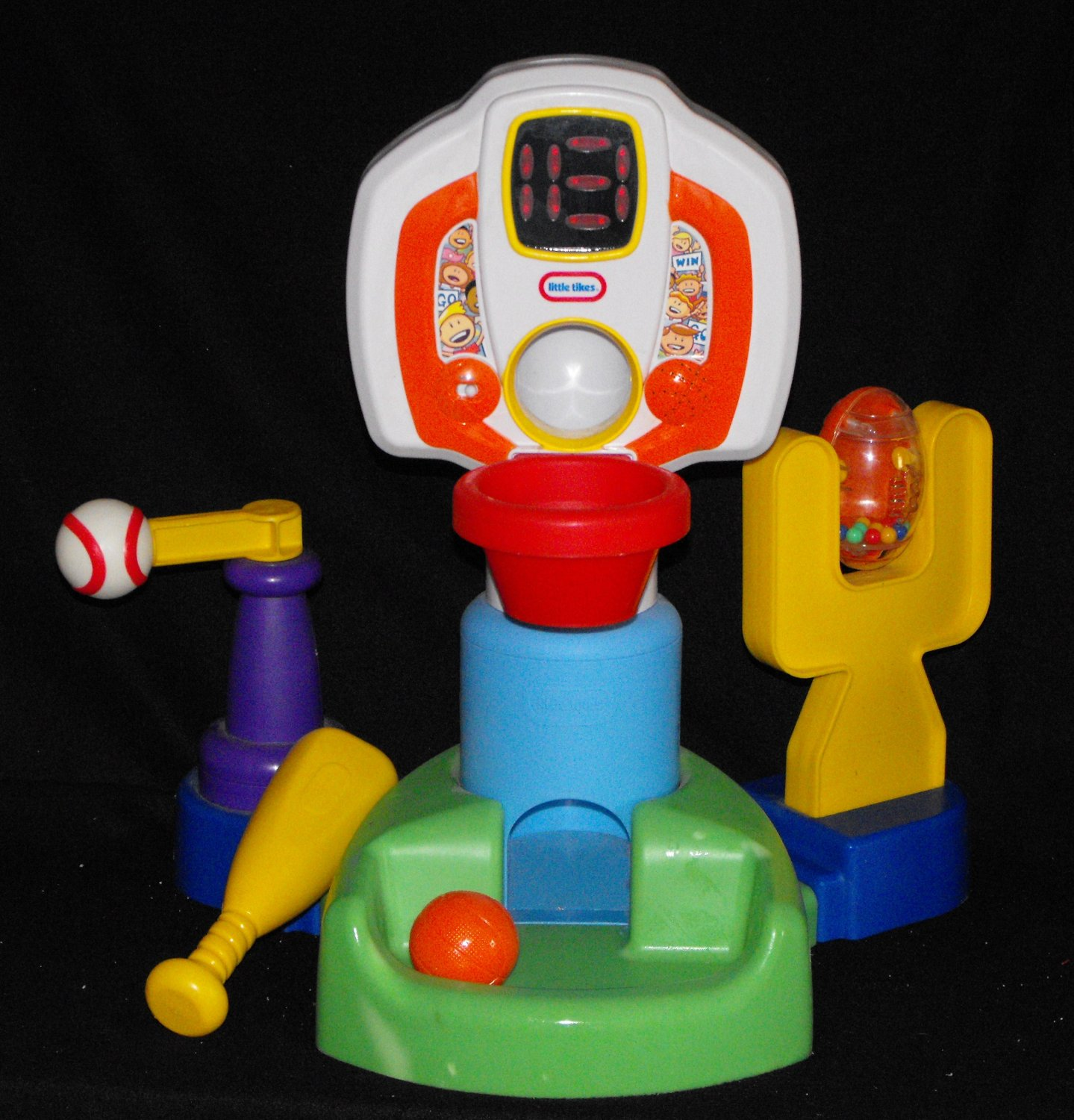 *SOLD~LITTLE TIKES 3-n-1 LITTLE CHAMPS SPORTS CENTER