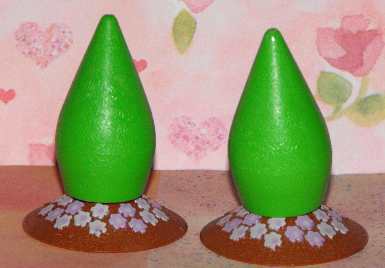 *1/16*SOLD~Little Tikes Dollhouse Replacement Bushes Part